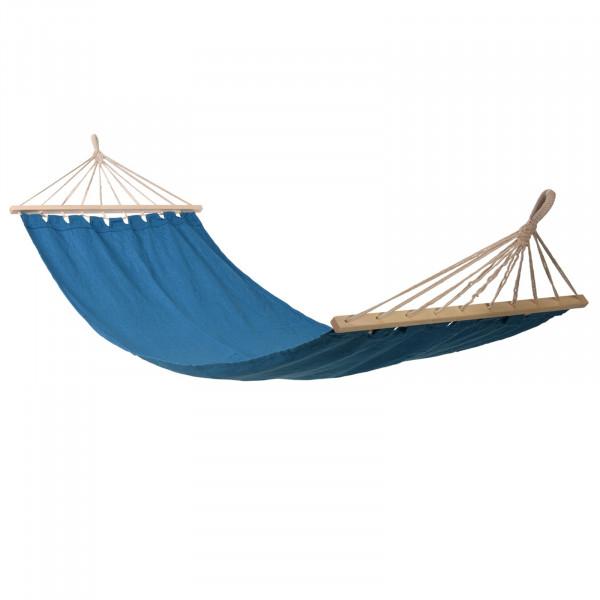 HTI-Living Baumwolle/Holz Hängematte Blau