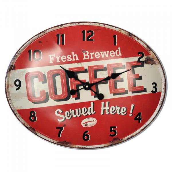 HTI-Line Coffee Wanduhr