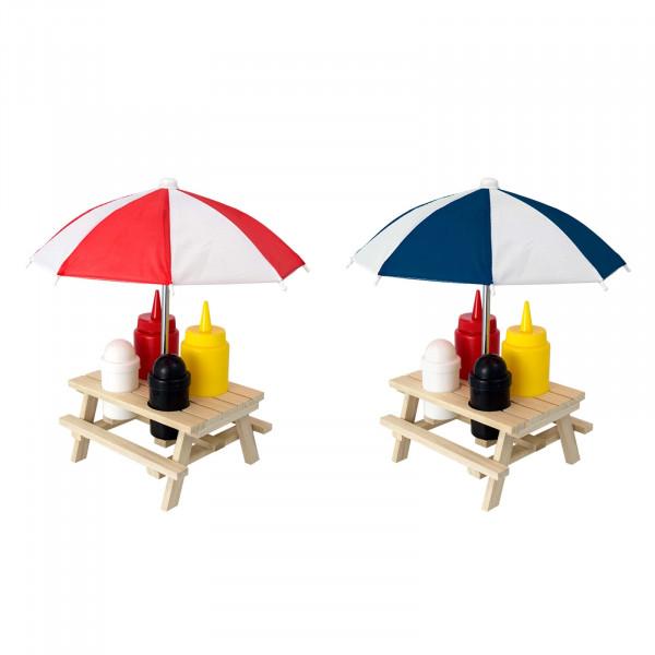 HTI-Living Picknicktisch Menage Set 6-teilig