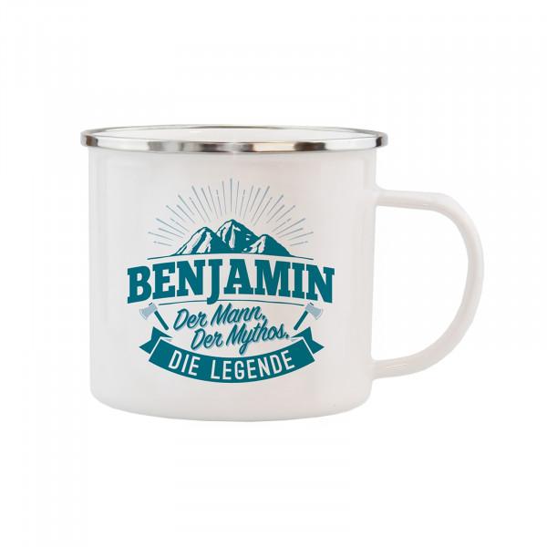 HTI-Living Benjamin Echter Kerl Emaille Becher