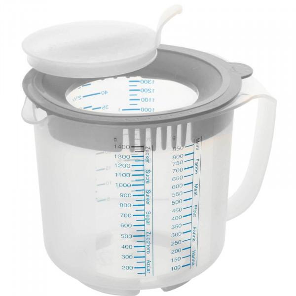 Dr. Oetker 1,4 Liter Mess- und Rührbecher