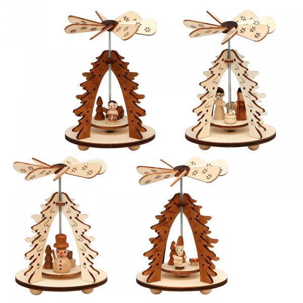 SIGRO Baum Holz Wärmespiel 1 Stück