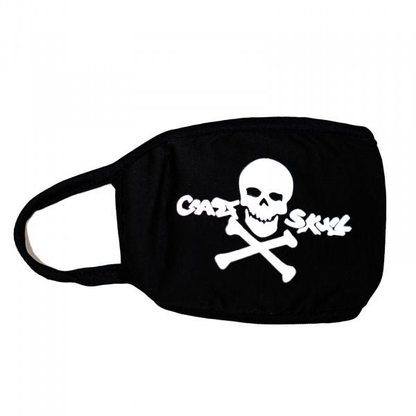 HTI-Line Crazy Skull Mund-Nasen-Bedeckung