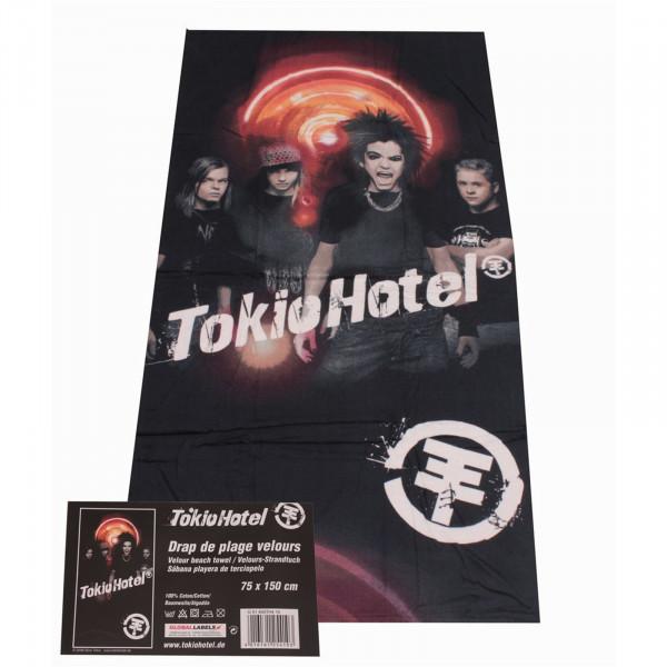 HTI-Living Schrei Strandtuch Tokio Hotel