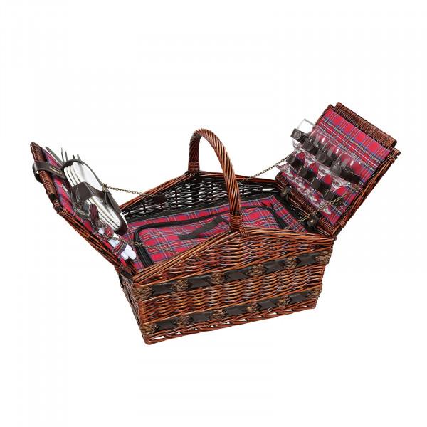 cilio COMO Picknickkorb für 4 Personen