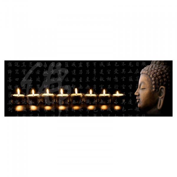 HTI-Line Buddha 3 LED Wandbild