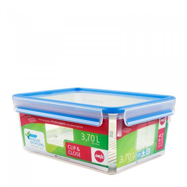Emsa Clip Close Frischhaltedose mit Abtropfgitter