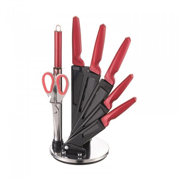 Michelino 8-teilig inkl. Acrylständer Messer-Set