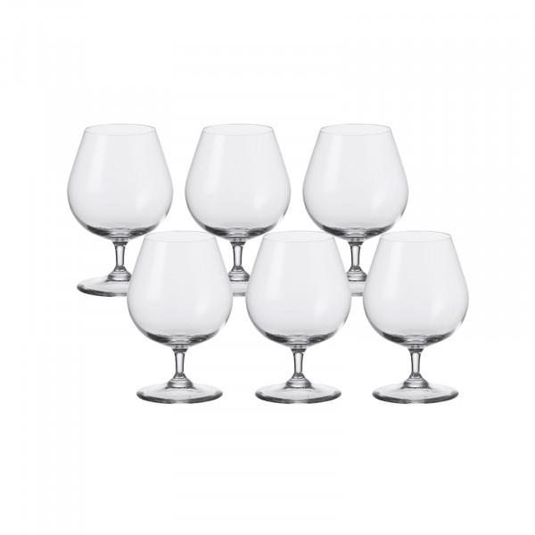Leonardo Ciao+ Cognac Glas 6er-Set