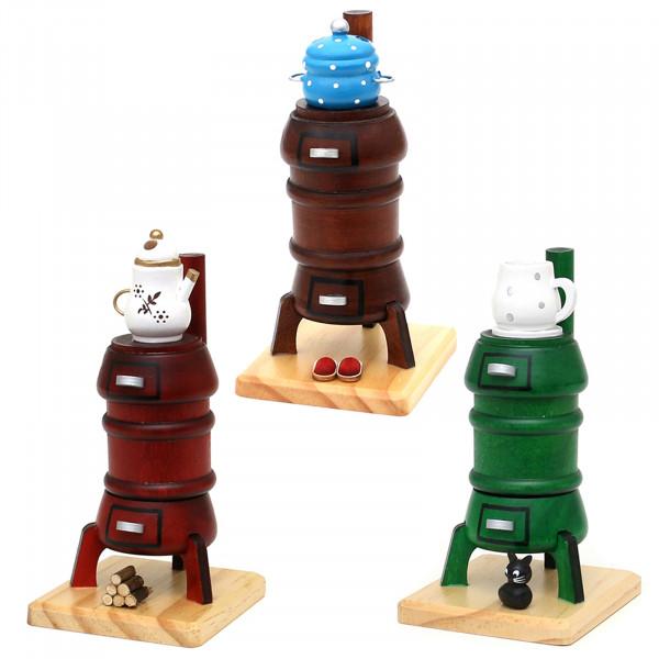 SIGRO 3 verschiedene Motive Holz Räucherofen