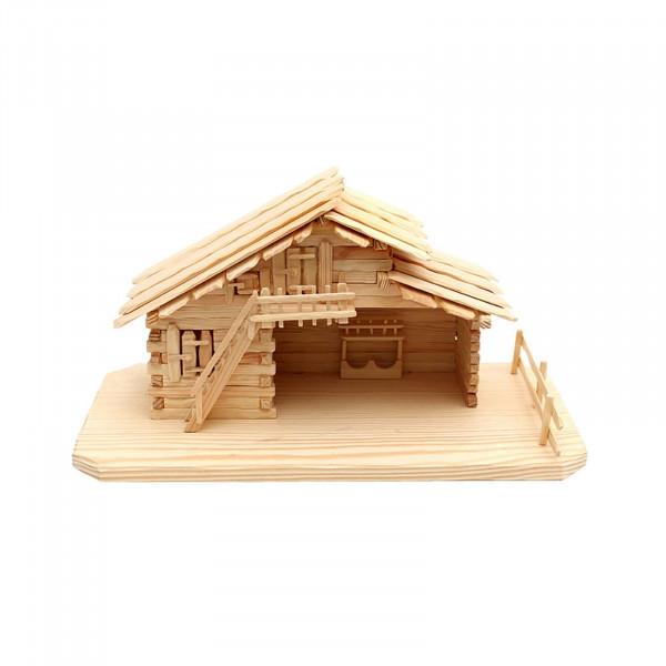 SIGRO für heilige Familie Holz Stall