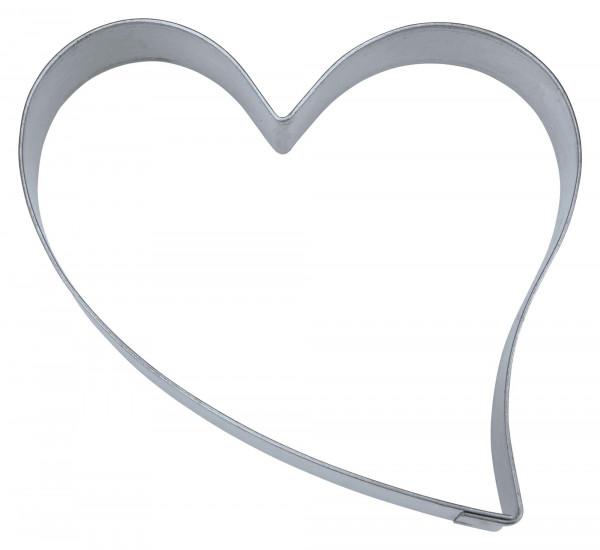 Städter Herz ca. 9,5 cm Ausstechform Herz Hochzeit