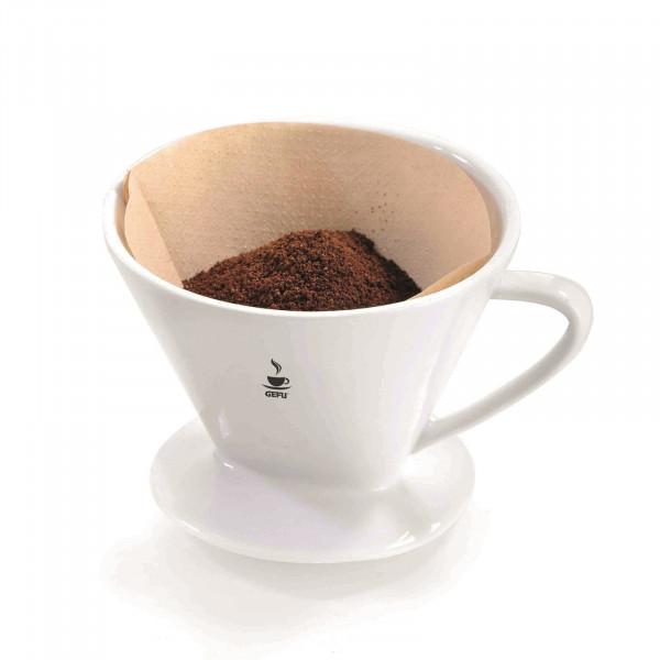 GEFU Sandro Porzellan-Kaffeefilter