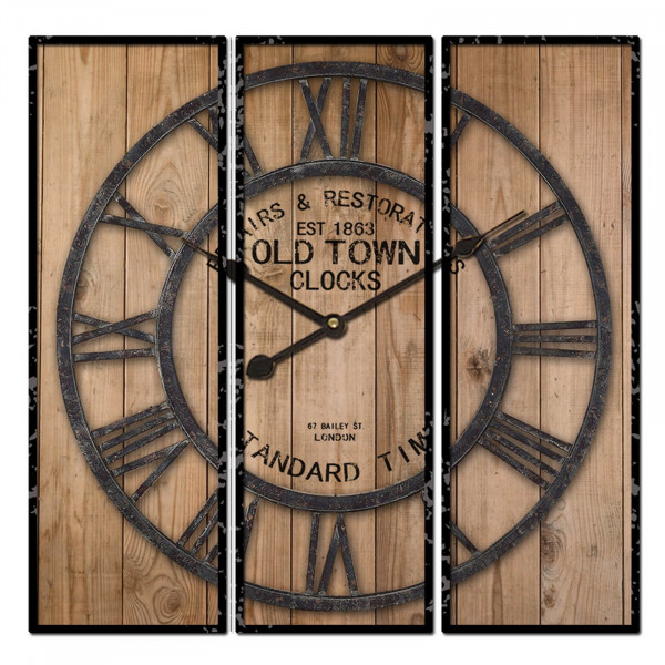HTI-Line Old Town Wanduhr