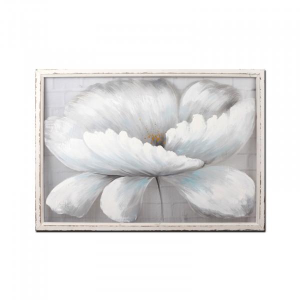 NTK-Collection Weiße Blüte Wandbild