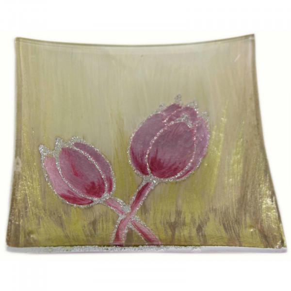 HTI-Living Tulpe Rosa Dekoteller