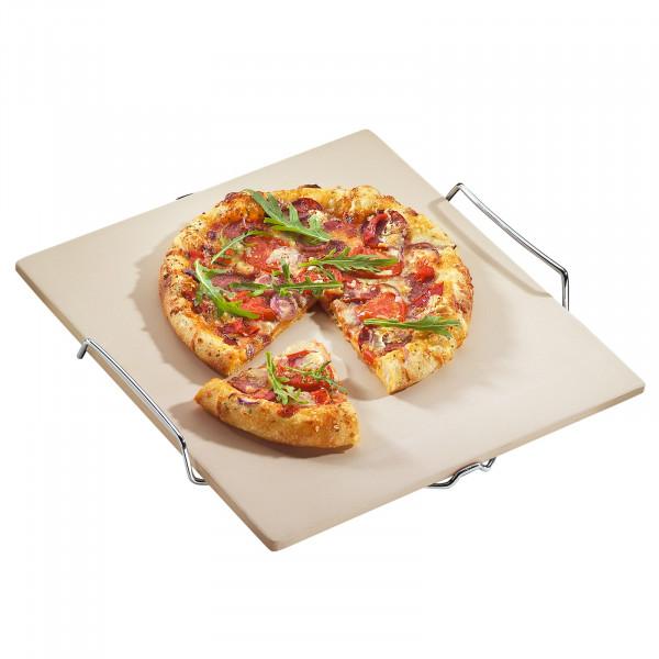 Küchenprofi aus technischer Keramik Pizza-Stein