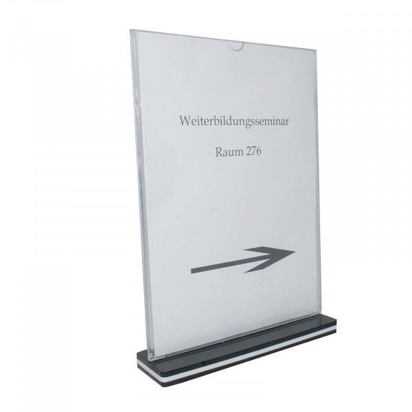 HTI-Line A4 Hochformat Tischaufsteller