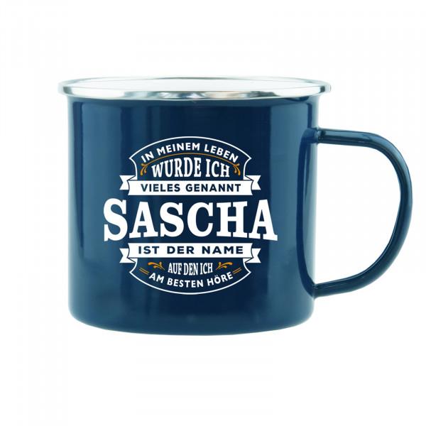 HTI-Living Sascha Echter Kerl Emaille Becher