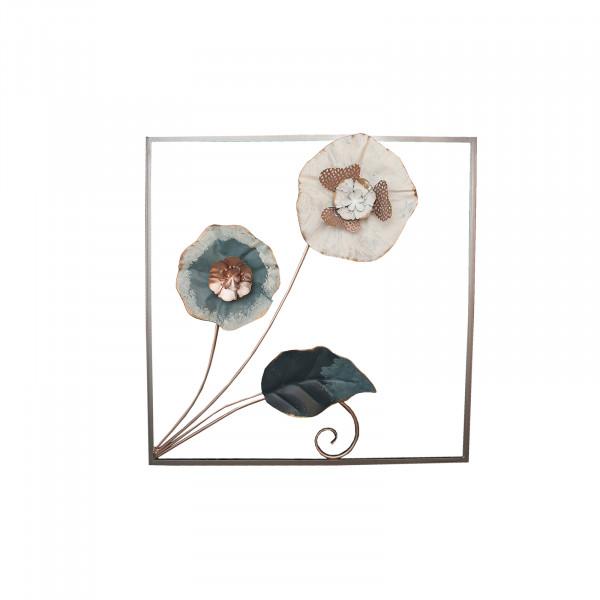 NTK-Collection Silhouette Blume Wanddeko