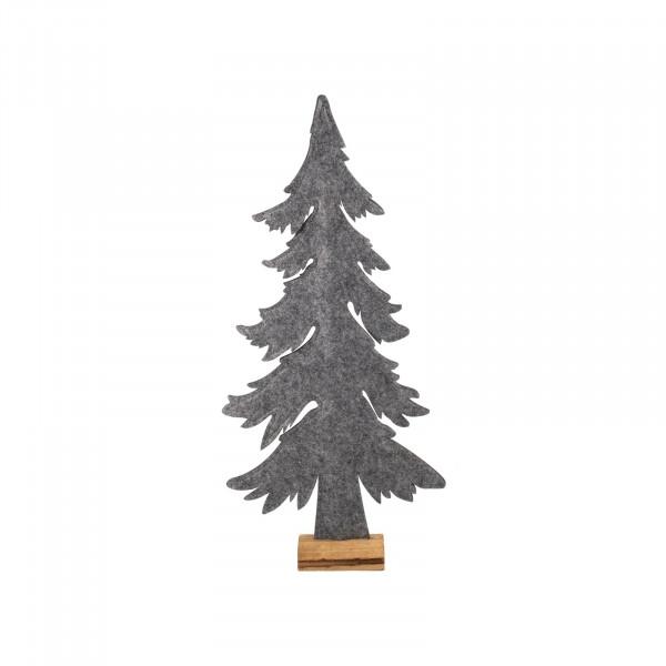 HTI-Living auf Holzsockel Weihnachtsbaum