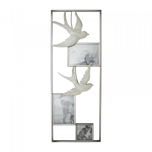 NTK-Collection Bilderrahmen mit Schwalben Wanddeko