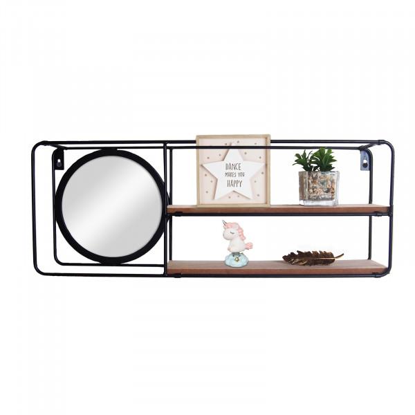 HTI-Line Viola Wandregal Mirror