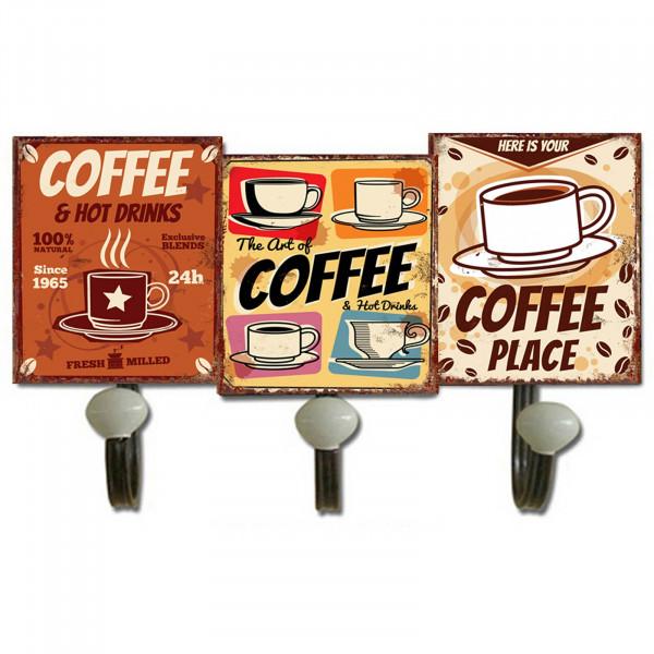 HTI-Line Coffee Garderobenhaken