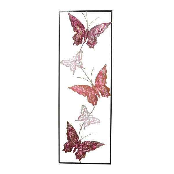 NTK-Collection Silhouette Schmetterling Wanddeko