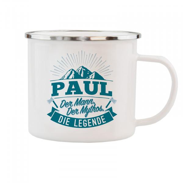 HTI-Living Paul Echter Kerl Emaille Becher