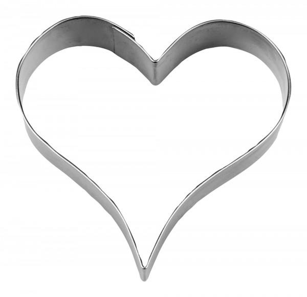 Städter Herz ca. 6 cm Ausstechform Herz Hochzeit