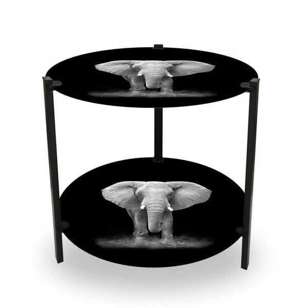 HTI-Line Duo Elefant Beistelltisch