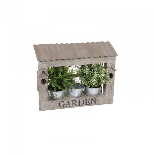 HTI-Living Garden Blumenkasten Holz