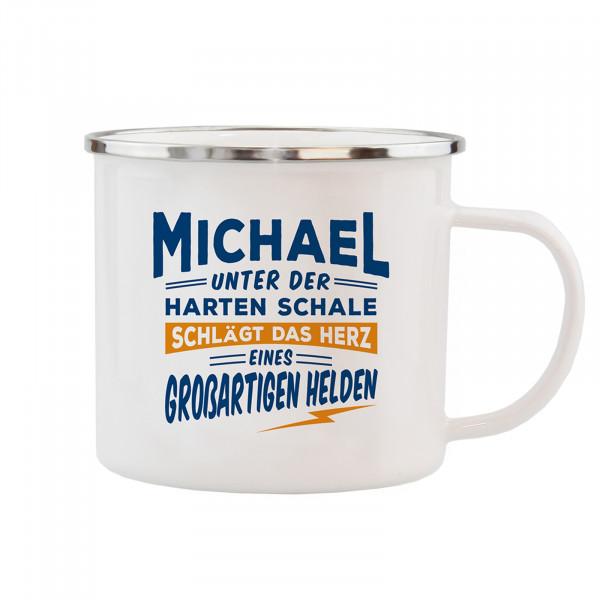 HTI-Living Michael Echter Kerl Emaille Becher