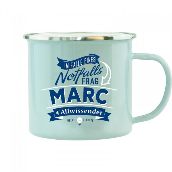 HTI-Living Marc Echter Kerl Emaille Becher