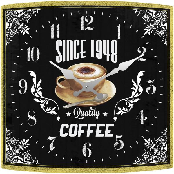 HTI-Line Coffee Tischuhr