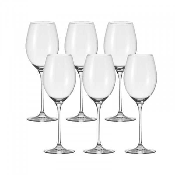Leonardo Cheers Rotwein-Glas 6er-Set