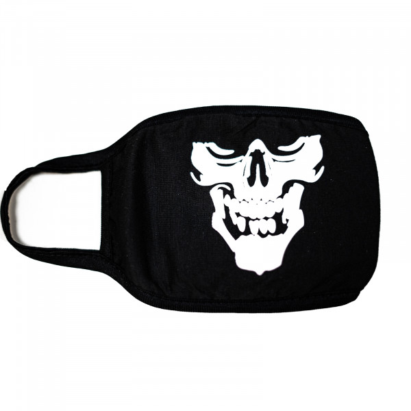 HTI-Line Totenkopf Mund-Nasen-Bedeckung