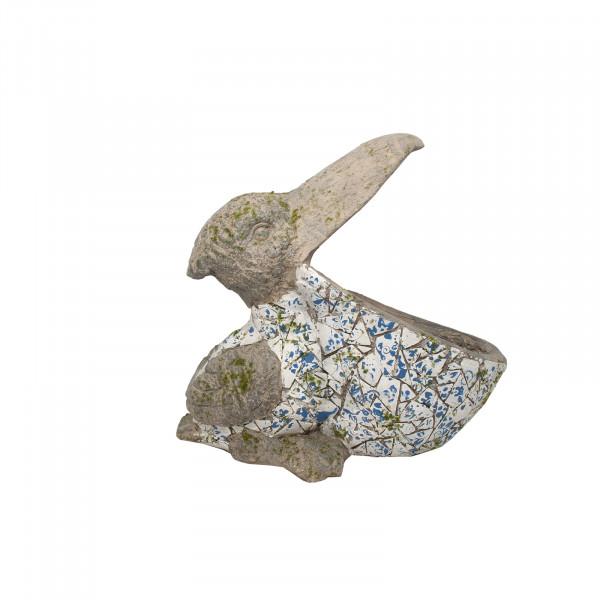 HTI-Line Pelikan Pflanzgefäß Mosaik