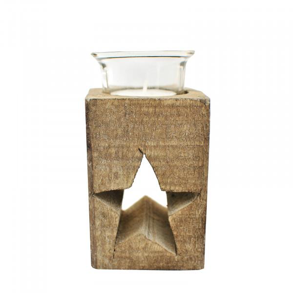 HTI-Line Stern Teelichthalter